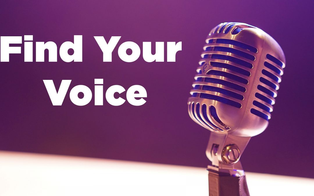 Want To Find Your Voice ?  Intersect Your Talents To Discover Your Super Power